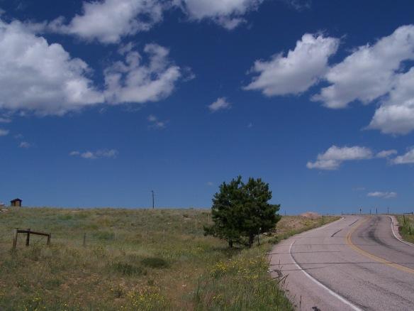 Wyoming Sky Road