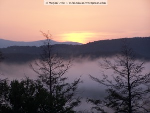 """Blue Ridge Sunset"" © Megan Oteri ~ All Rights Reserved"