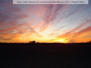 sunset watermarked