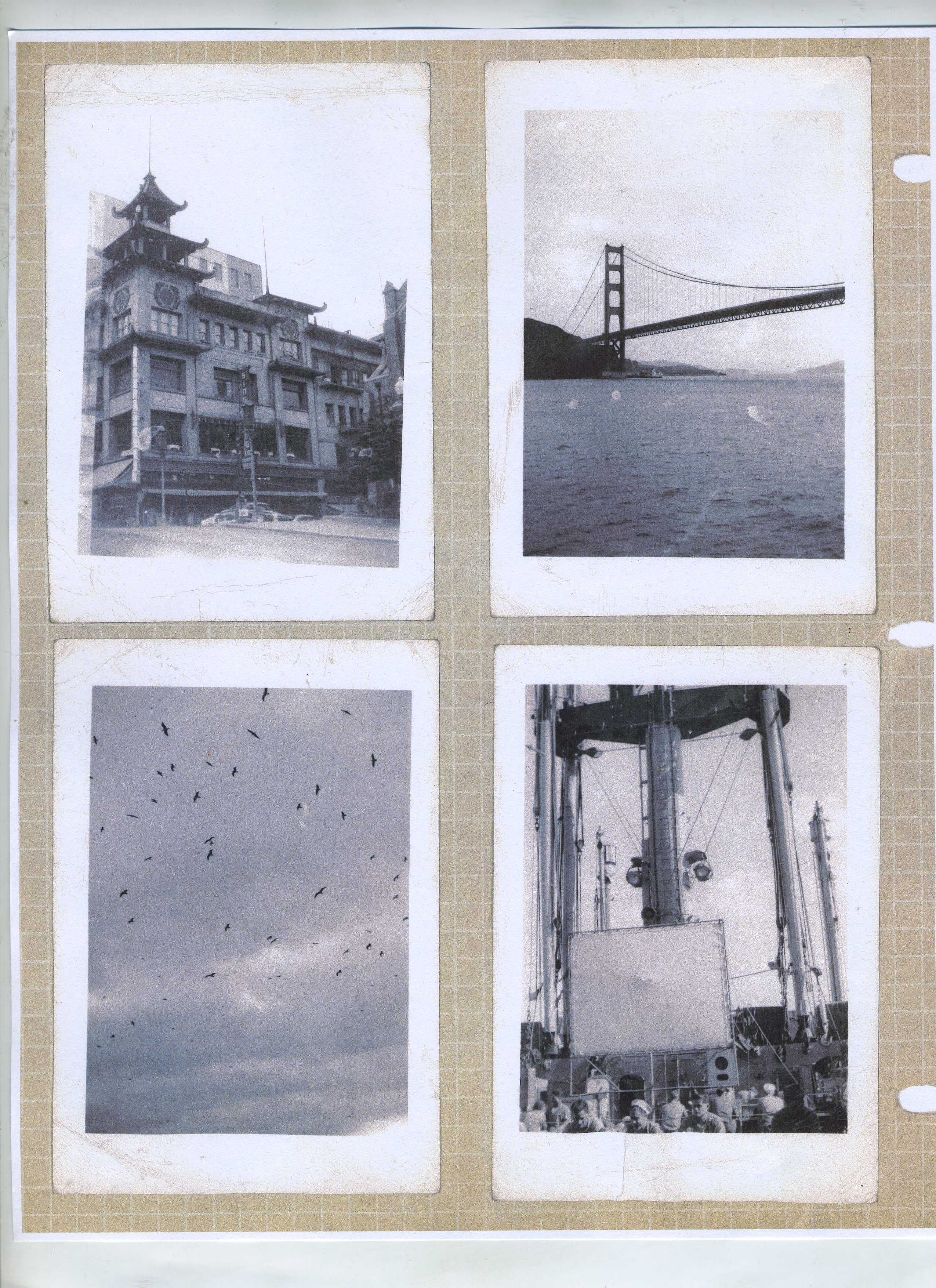 My father had a poet's eye.  I believe he took these photos on leave during the Korean War.