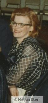 My mom, Betty with her beautiful red hair and amazing smile