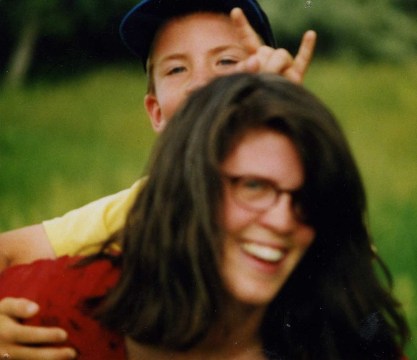 My Nephew and Me when he was eight years old