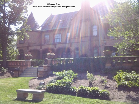 Another view of this beautiful house.  You can go on tours of the Dawes House.  The Dawes House is the home of the Evanston History Center, where I conducted my research primarily.