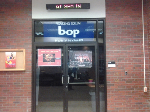 This was once the mailroom, now it is the BOP office